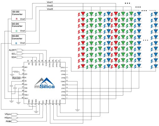 Msl3162blockw premier micro electronics uk design engineer solutions of on block diagram led tv